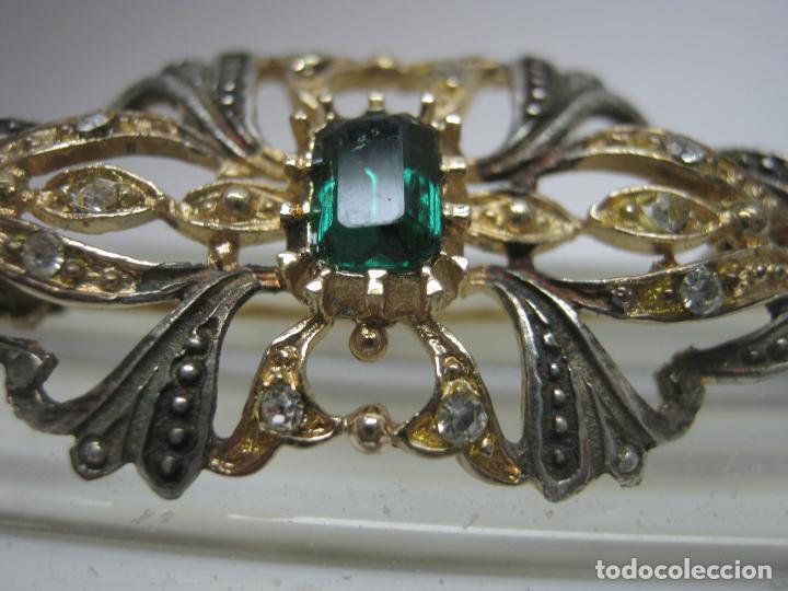 Joyeria: Antiguo broche alfiler tipo Isabelino - marca contraste - Foto 3 - 193555606