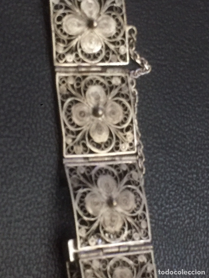 Joyeria: Pulsera de plata con filigrana cordobesa - Foto 2 - 193626842