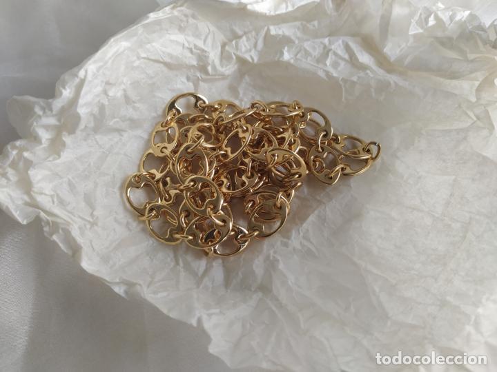 Joyeria: Collar de originales eslabones en metal dorado - Foto 6 - 194082337