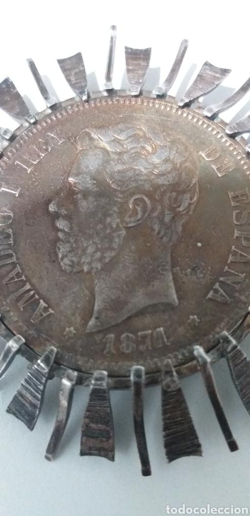 Joyeria: Antiguo broche de plata - Foto 2 - 194159372