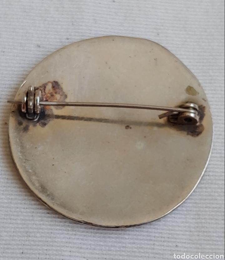 Joyeria: Broche de plata y nácar - Foto 2 - 194192520