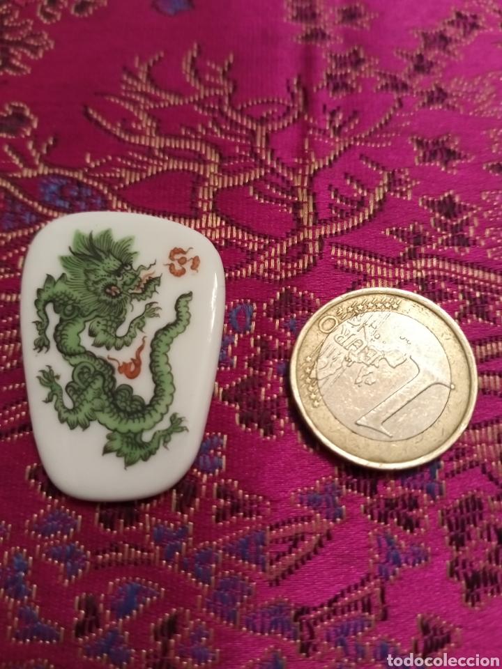 Joyeria: Placa porcelana colgante o broche Saxonia - Foto 3 - 194236672