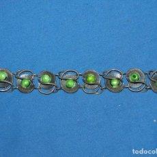Joyeria: (MCAJON1) PULSERA ANTIGUA DE PLATA - ABIERTA 21 CM, SEÑALES DE USO NORMALES. Lote 194392651