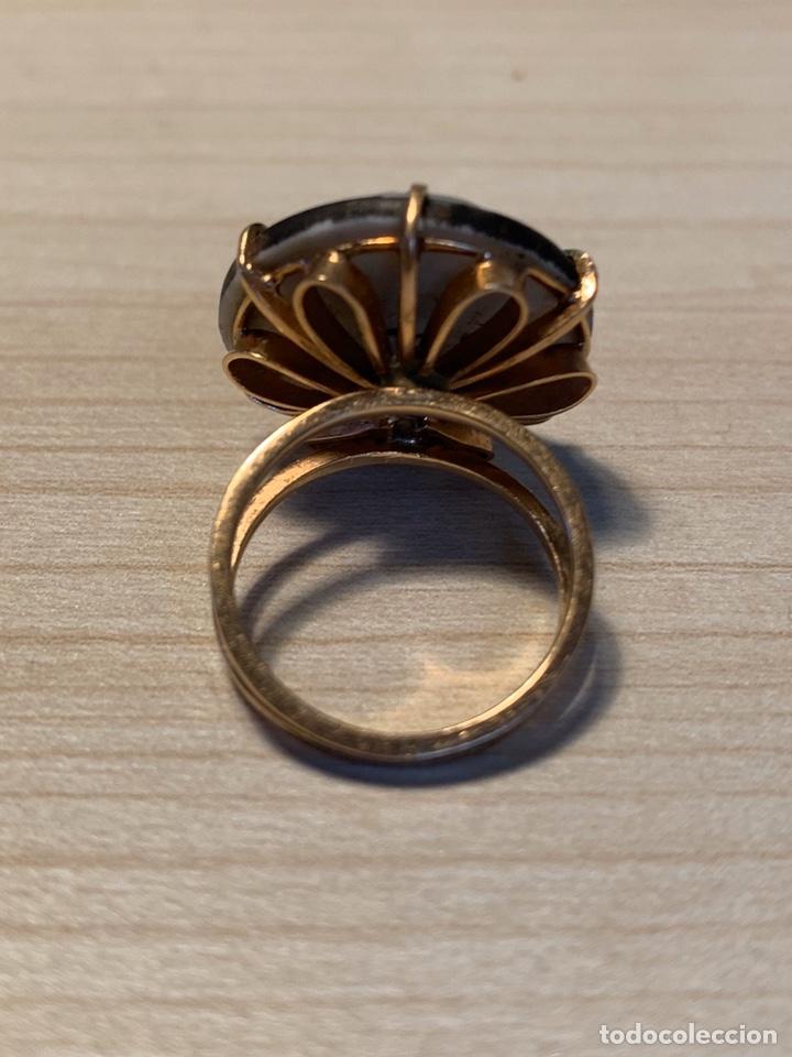 Joyeria: Sortija oro con cerámica Dios chino - Foto 3 - 194523650
