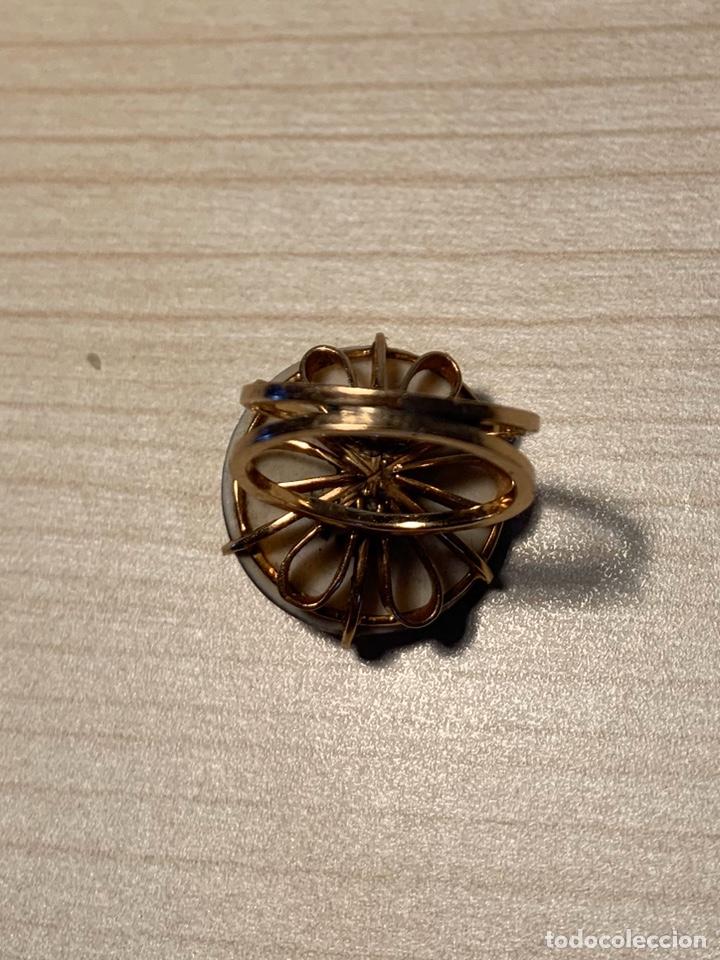 Joyeria: Sortija oro con cerámica Dios chino - Foto 4 - 194523650