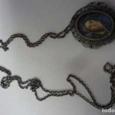 Joyeria: COLGANTE PLATA DE LEY CON VIRGEN. Lote 194596732