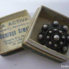 Joyeria: ANTIGUO BROCHE PLATA DE LEY. Lote 194596826