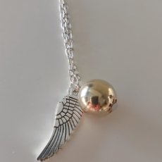 Joyeria: EXCLUSIVO COLLAR DE PLATA DE HARRY POTTER Y REGALO!!!!!!. Lote 194784852