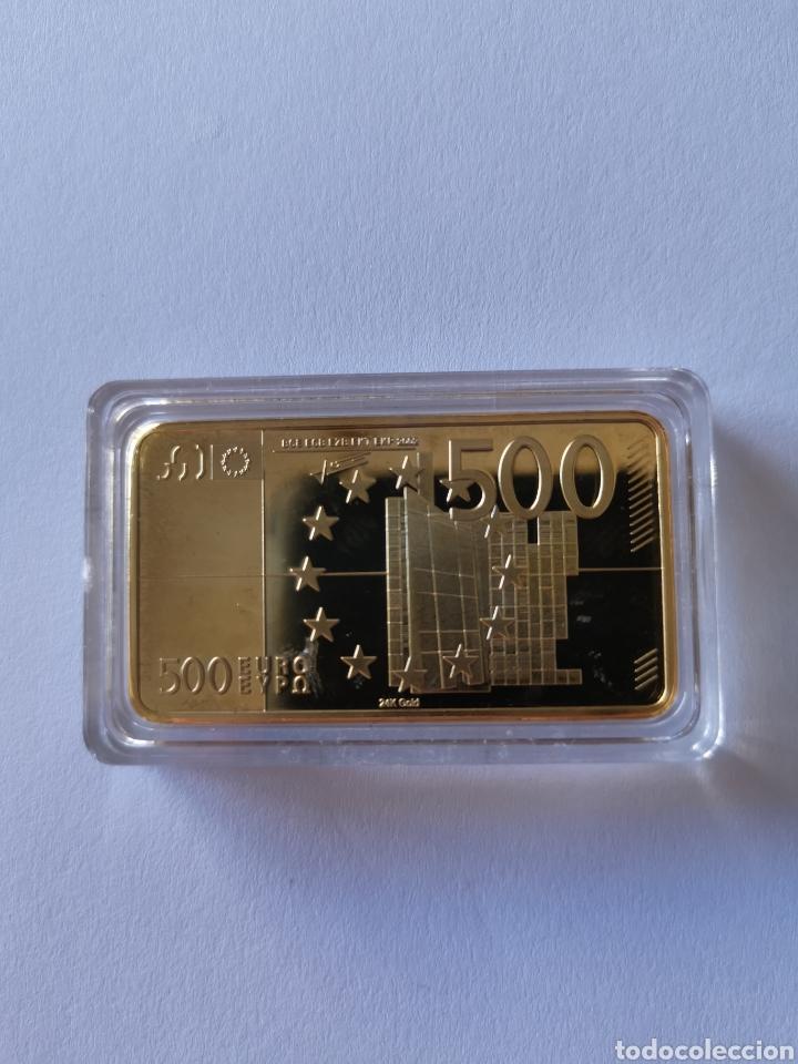 Joyeria: Oro laminado. Lingote homenaje a la unión europea. 500 euros. Europa - Foto 4 - 194785480