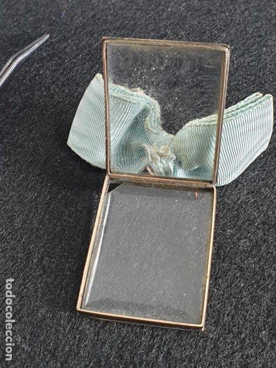 Joyeria: Antiguo colgante en Oro 14K con imagen nuestra señora XIX - Foto 5 - 194859267