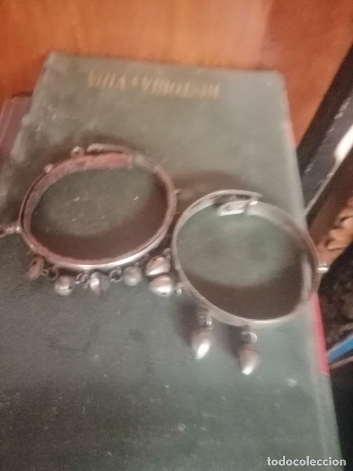 Joyeria: Dos pulseras o brazaletes antiguos - Foto 3 - 194973793