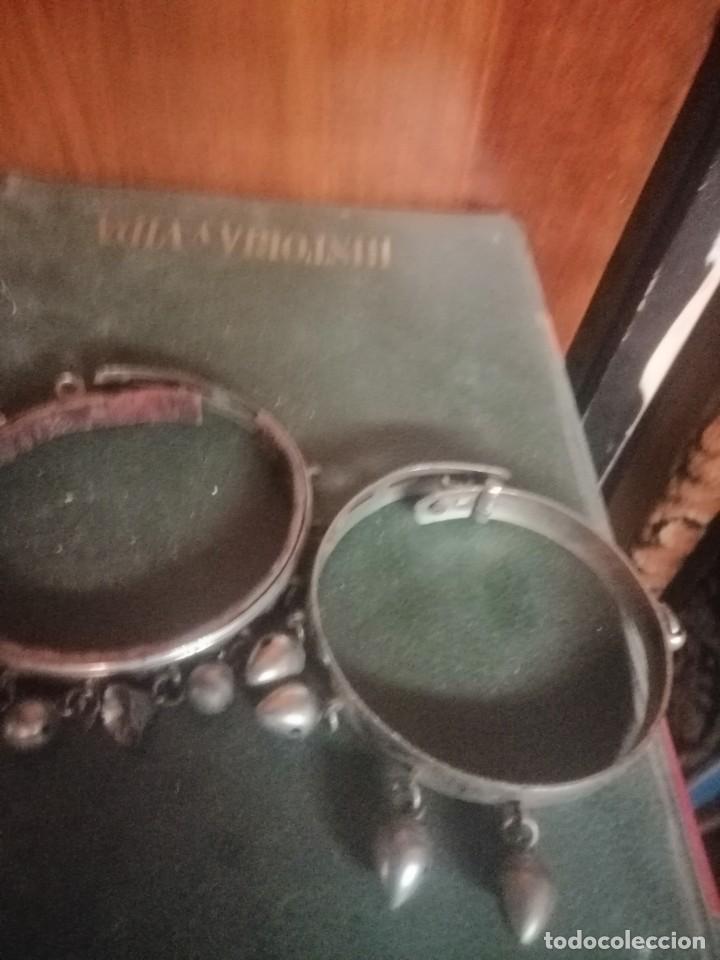 Joyeria: Dos pulseras o brazaletes antiguos - Foto 4 - 194973793