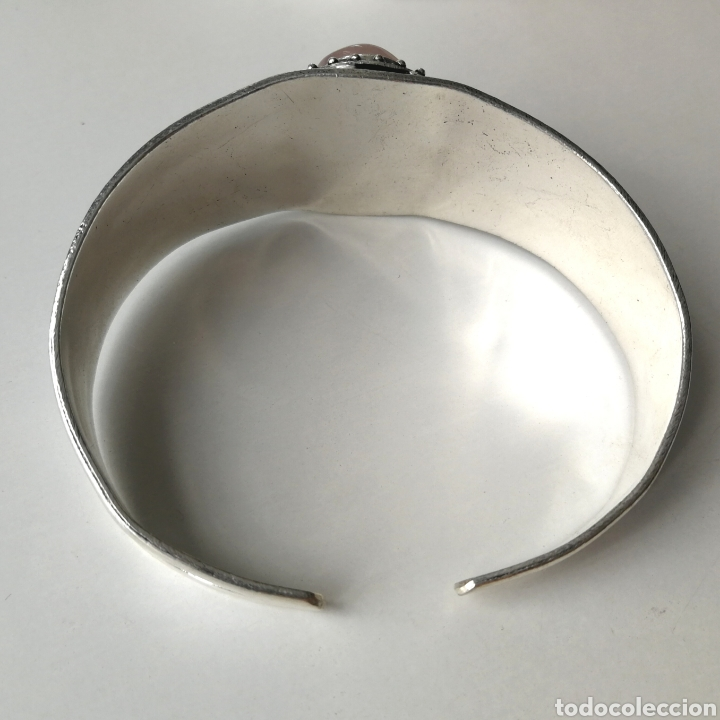Joyeria: Brazalete pulsera ajustable con Cuarzo rosa - 35gr. - Foto 5 - 195013747