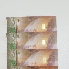 Joyeria: LOTE 5 LINGOTES 0,1 GRAMOS ORO PURO.KARATBARS.. Lote 195112312
