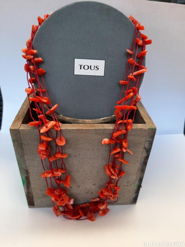 COLLAR TOUS CORALES PLATA 925 (Joyería - Collares Antiguos)