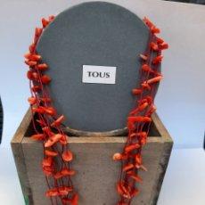 Joyeria: COLLAR TOUS CORALES PLATA 925. Lote 195122675