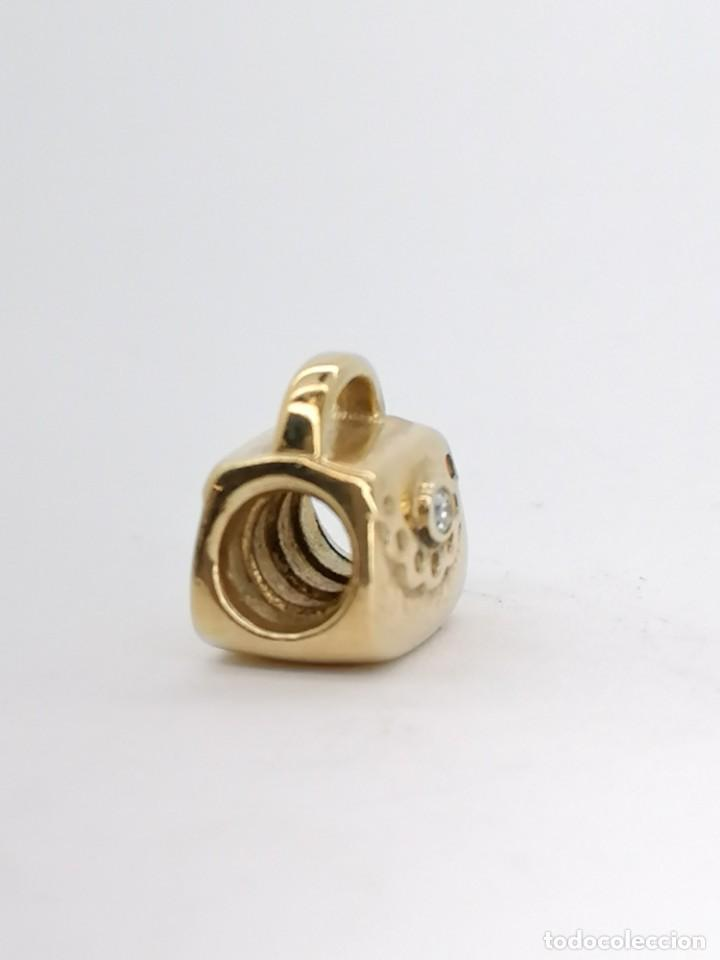 Joyeria: Charm Pandora de oro con 1 diamante, nuevo a estrenar - Foto 2 - 195306217