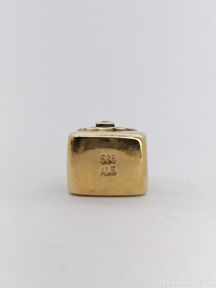 Joyeria: Charm Pandora de oro con 1 diamante, nuevo a estrenar - Foto 3 - 195306217