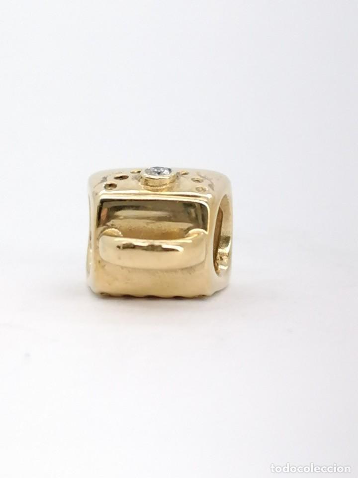 Joyeria: Charm Pandora de oro con 1 diamante, nuevo a estrenar - Foto 4 - 195306217