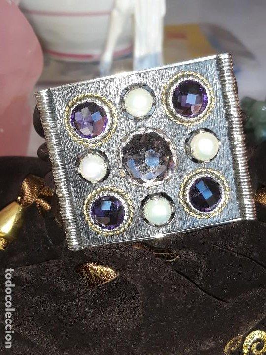 Joyeria: Pulsera Plata Oro y piedras preciosas - Foto 2 - 195344972