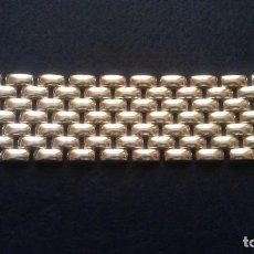 Joyeria: ESPECTACULAR BRAZALETE VINTAGE PLATA DE LEY. Lote 195353791