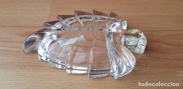 Joyeria: 330-Cenicero o bandeja vacía-bolsillos de cristal al 20% Pb, con uña de plata. - Foto 3 - 195390226