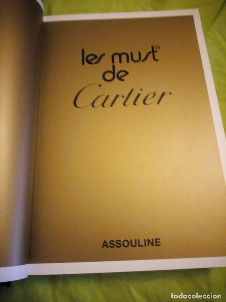 Joyeria: CATALOGO DE LUJO Les Must De Cartier (Tapa dura) de Anne-Marie Clais (Autor) 2002 - Foto 10 - 195428975