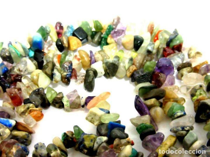 Joyeria: maravilloso y raro collar Hermoso con muchas ,distintas y pequeñas piedras preciosas1 98,00 € - Foto 3 - 195437215
