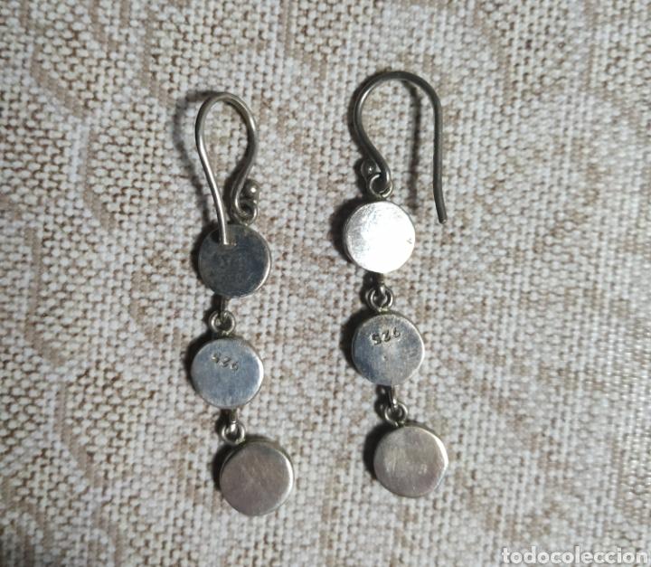 Joyeria: Pendientes de plata,contrastados - Foto 2 - 195494296