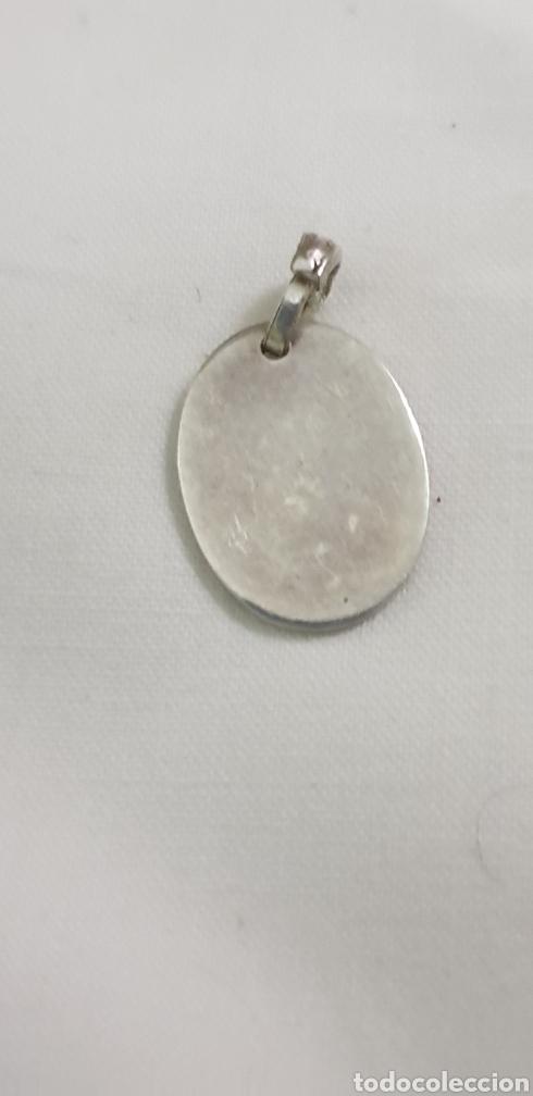 Joyeria: Precioso colgante plata de ley 925 antiguo ovalado - Foto 2 - 195525237