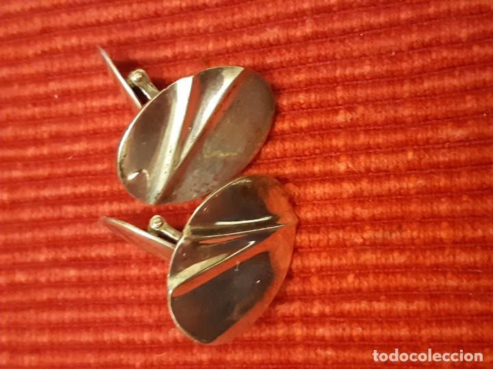 Joyeria: Preciosos gemelos de plata de ley 925 - Foto 5 - 197586142