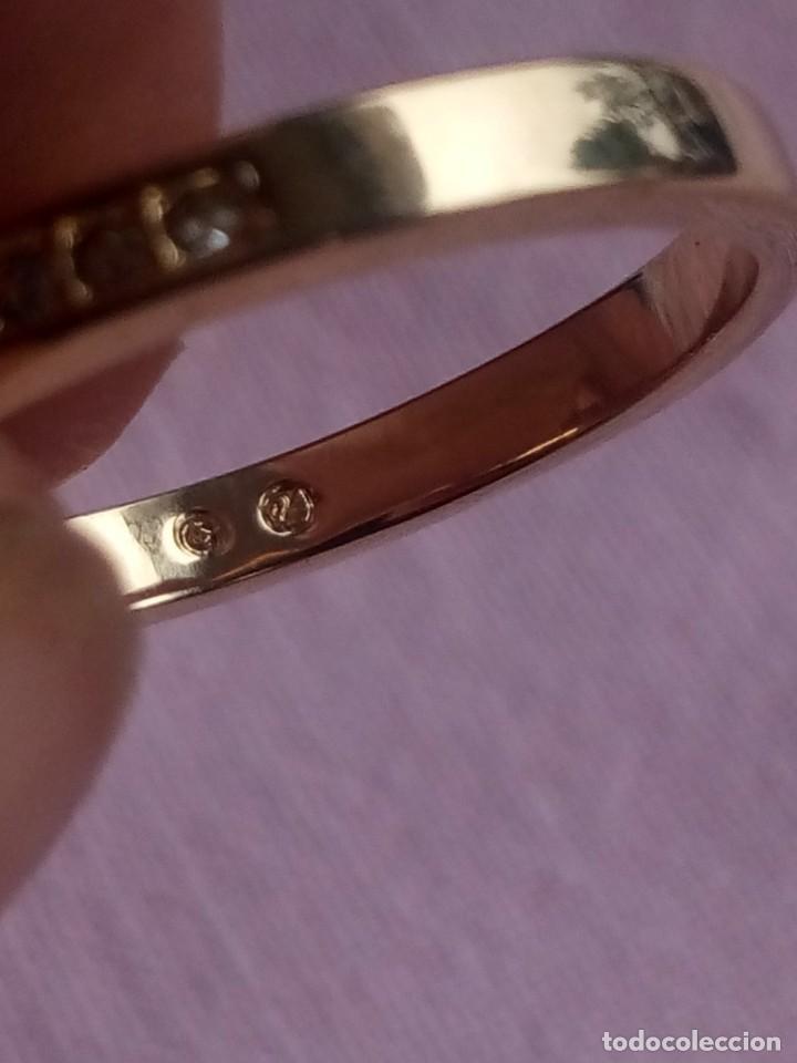 Joyeria: Precioso anillo chapado en oro con cristales SWAROVSKI Angelic Gold Ring 55,nuevo - Foto 6 - 198056938