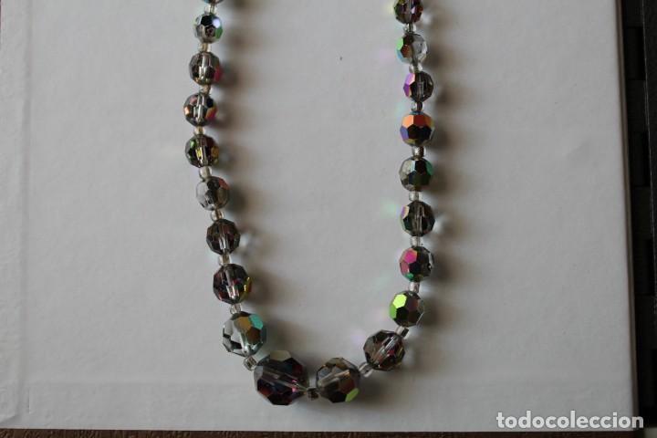 Joyeria: Collar cuentas de cristal años 30 - Foto 2 - 198935150