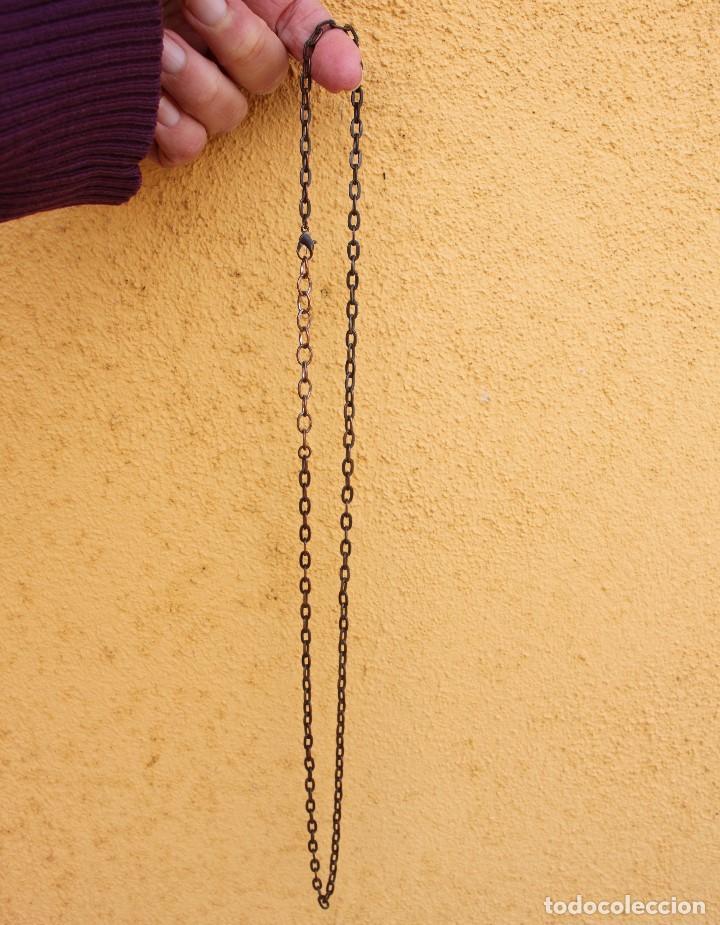 Joyeria: Cadena de cobre y hierro de 70 cm, extensible - Foto 3 - 199297026