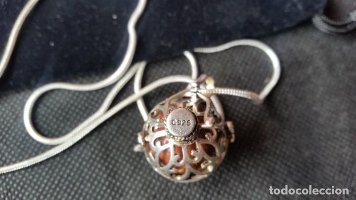 Joyeria: Collar con colgante redondo con una piedra de jade en el interior - Foto 4 - 213824112