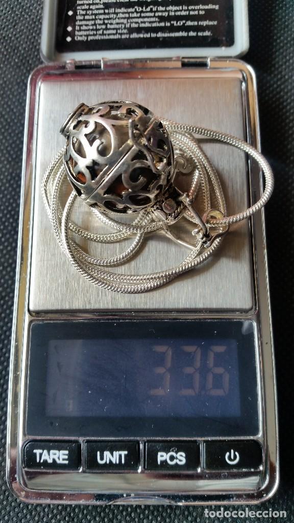 Joyeria: Collar con colgante redondo con una piedra de jade en el interior - Foto 8 - 213824112