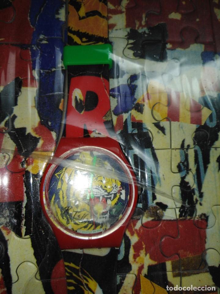 Joyeria: 2 RELOJES SWATCH COLECCIÓN MARILYN MONROE Y TIGRE BENGALA MIMMO ROTELLA - Foto 2 - 200735266