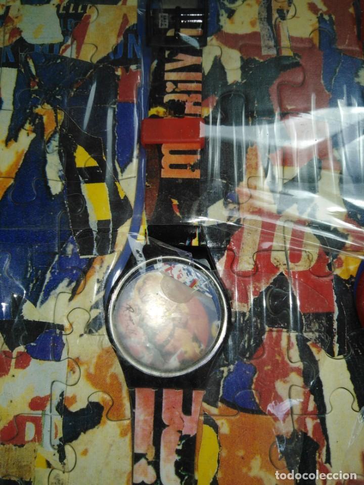 Joyeria: 2 RELOJES SWATCH COLECCIÓN MARILYN MONROE Y TIGRE BENGALA MIMMO ROTELLA - Foto 7 - 200735266