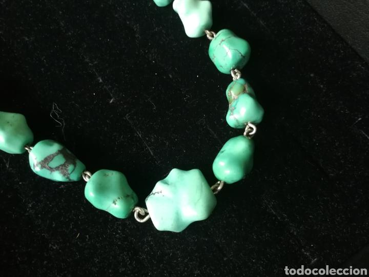 Joyeria: Collar turquesas barrocas - Foto 3 - 201161102