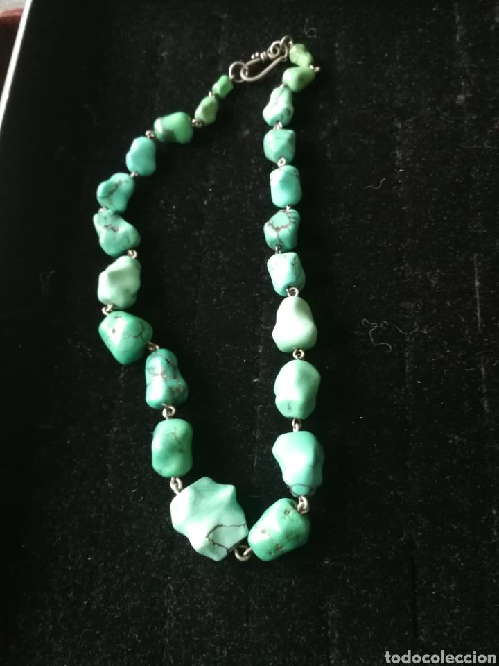 Joyeria: Collar turquesas barrocas - Foto 4 - 201161102