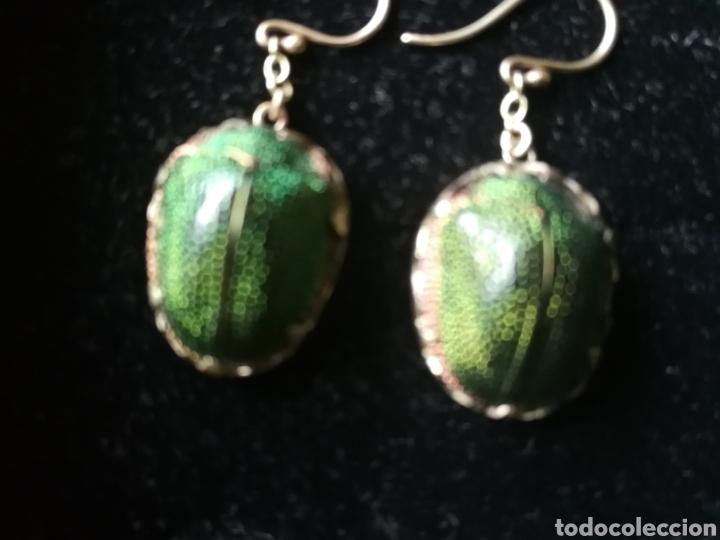 Joyeria: Conjunto Victoriano escarabajos. Plata oro y esmalte - Foto 4 - 201161766
