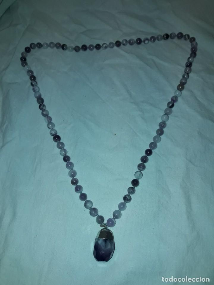 Joyeria: Precioso collar de amatistas naturales - Foto 2 - 201307533