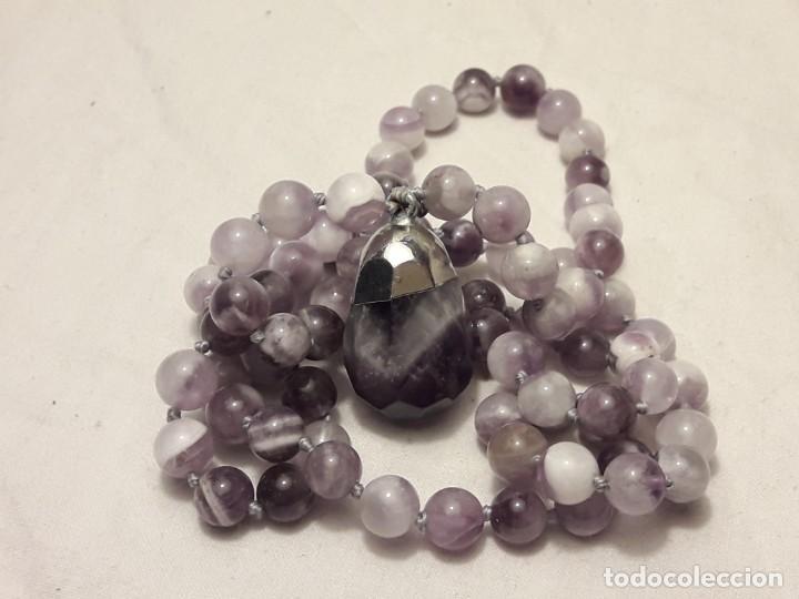 Joyeria: Precioso collar de amatistas naturales - Foto 10 - 201307533