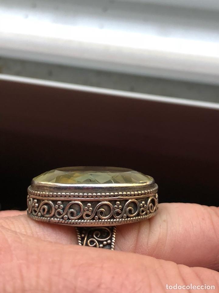 Joyeria: Magnifico anillo en plata de ley y cristal facetado - Foto 2 - 201928848