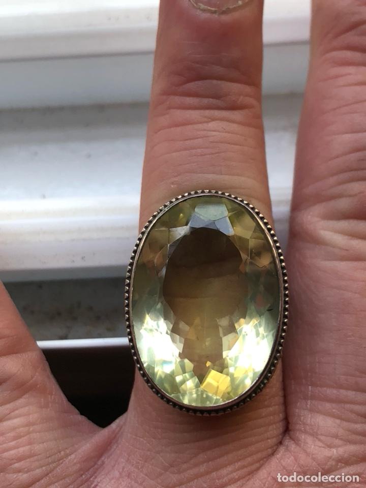 Joyeria: Magnifico anillo en plata de ley y cristal facetado - Foto 3 - 201928848