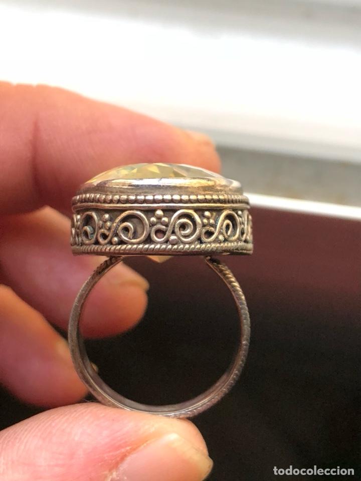 Joyeria: Magnifico anillo en plata de ley y cristal facetado - Foto 5 - 201928848