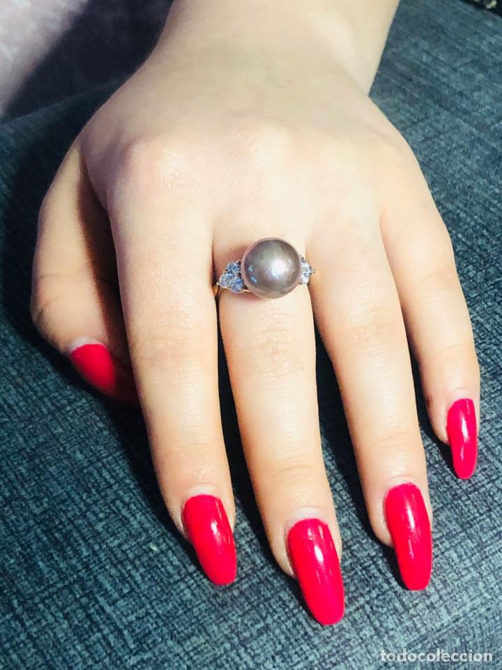 Joyeria: anillo de plata de ley 925 acabado en oro - Foto 6 - 192553395