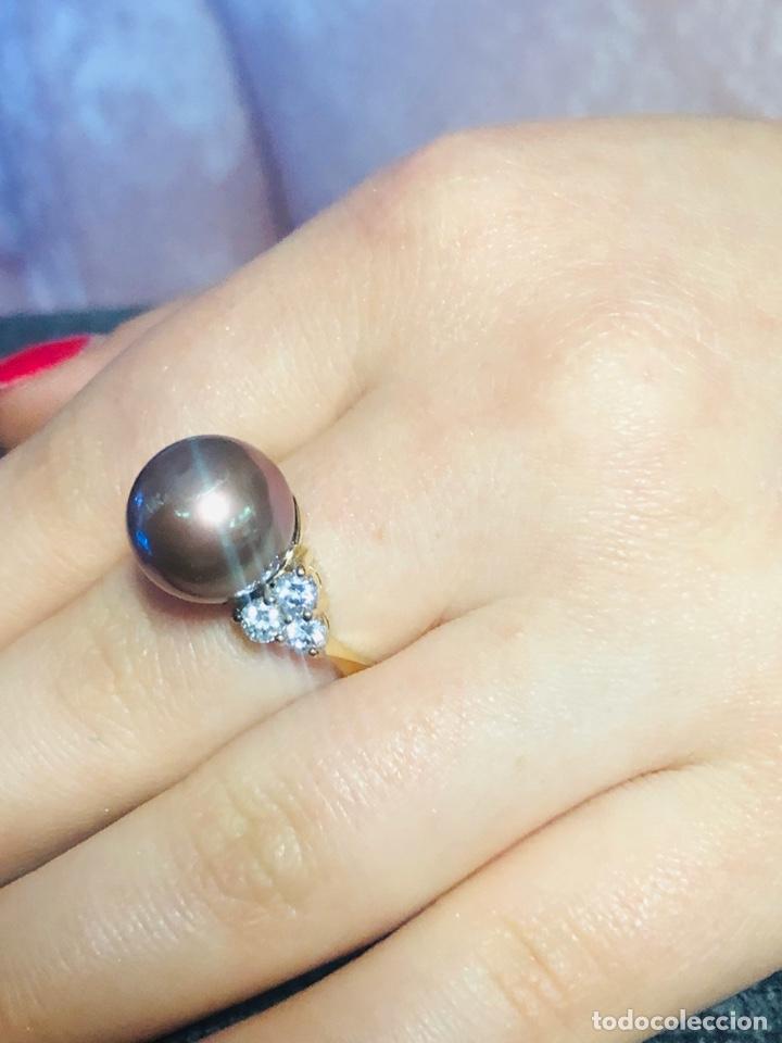 Joyeria: anillo de plata de ley 925 acabado en oro - Foto 9 - 192553395