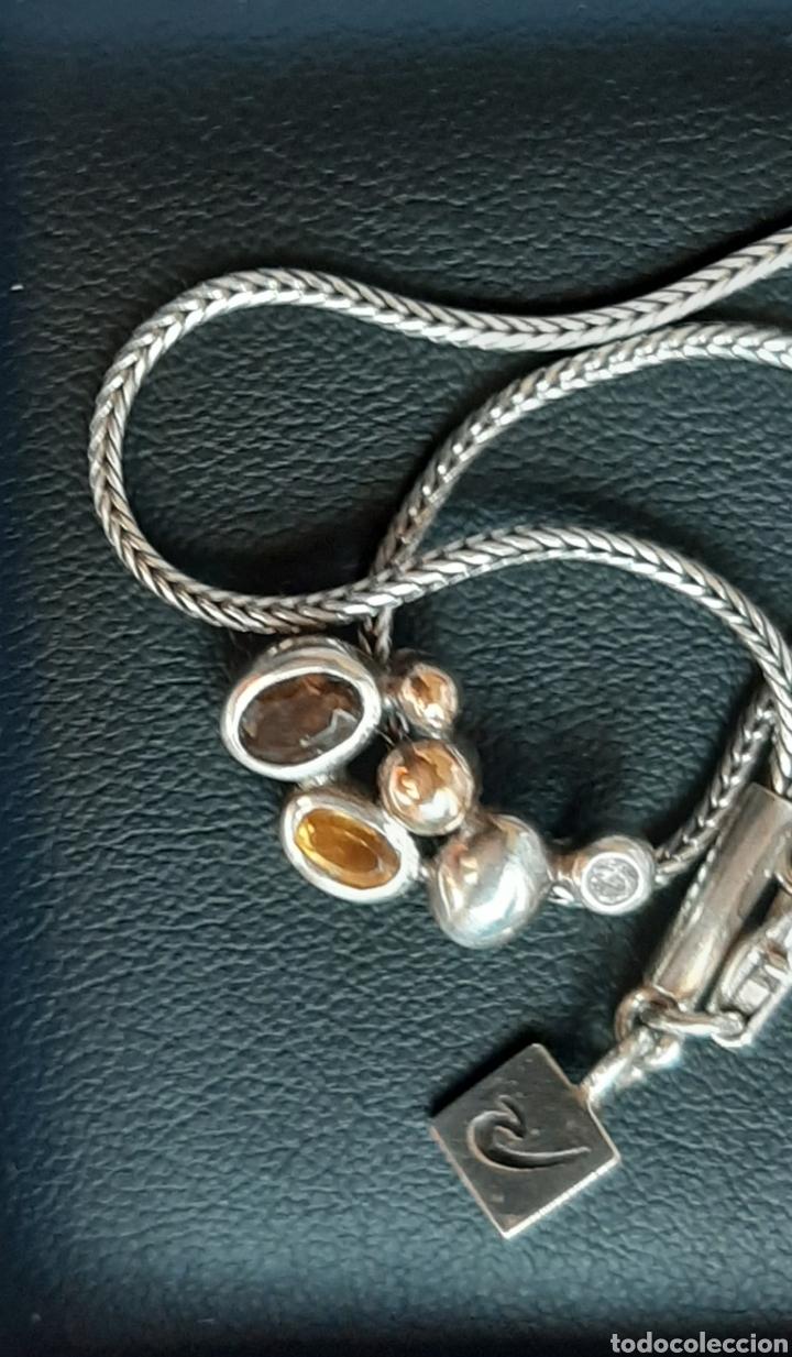 Joyeria: Collar + colgate de plata RAUFF 925 S Y colgante de amatista turmalina y circonita . - Foto 4 - 202721871
