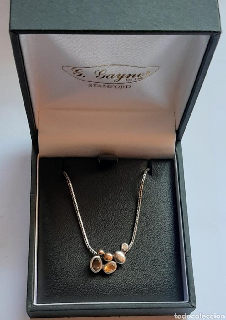 Joyeria: Collar + colgate de plata RAUFF 925 S Y colgante de amatista turmalina y circonita . - Foto 8 - 202721871